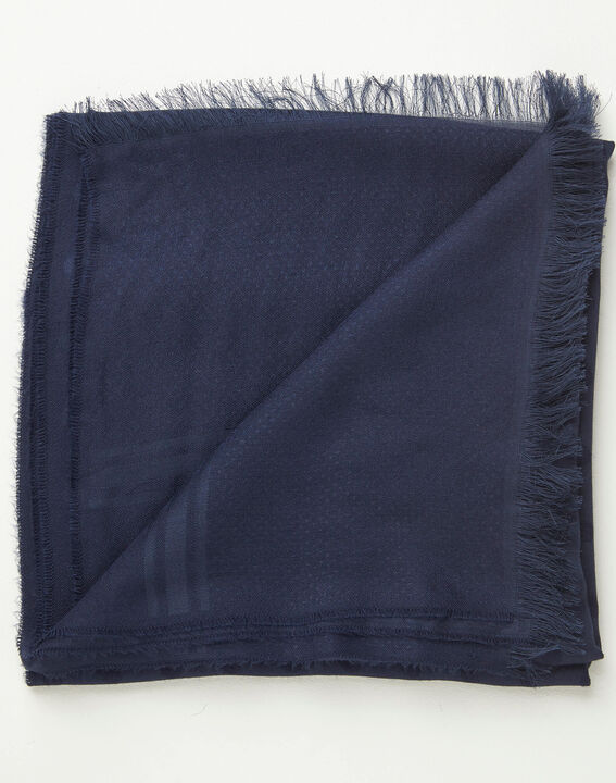 Adam navy polka dot scarf PhotoZ | 1-2-3