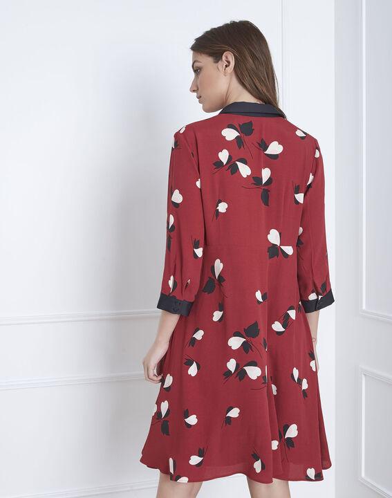Robe rouge imprimée Lamour (4) - Maison 123