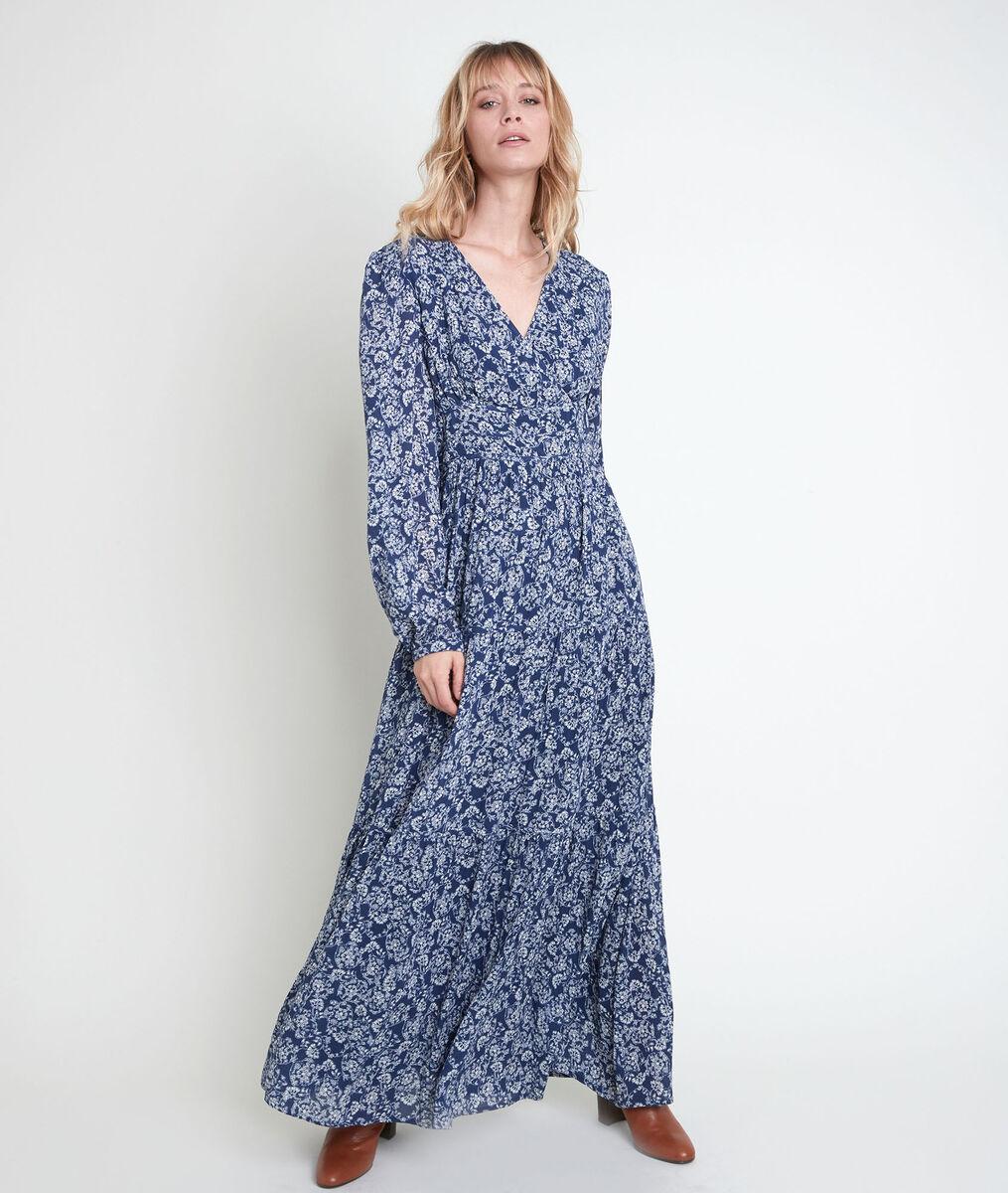 Robe longue imprimée Leonor PhotoZ | 1-2-3