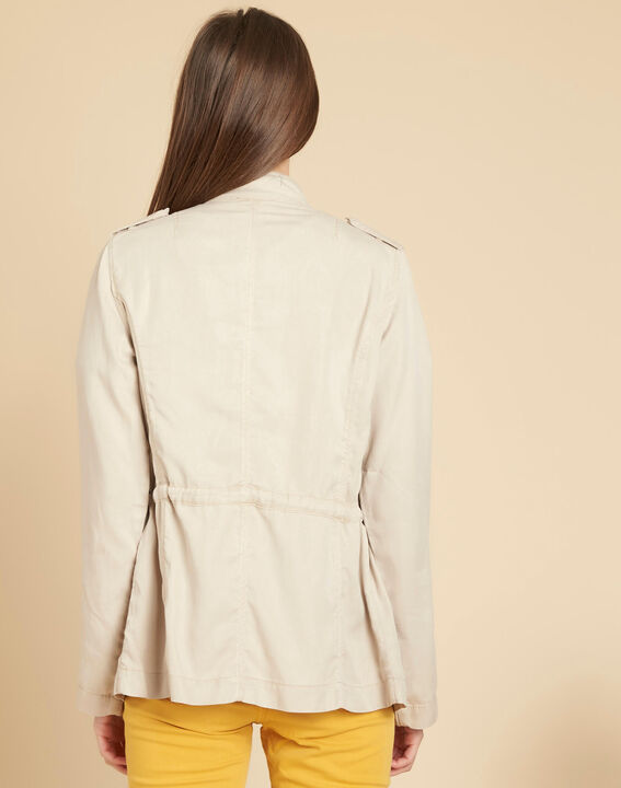 Casa off-white jacket with pockets (4) - 1-2-3