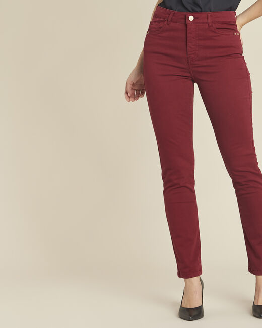 Vendôme ruby slim-cut standard-waist 7/8 length jeans (1) - 1-2-3