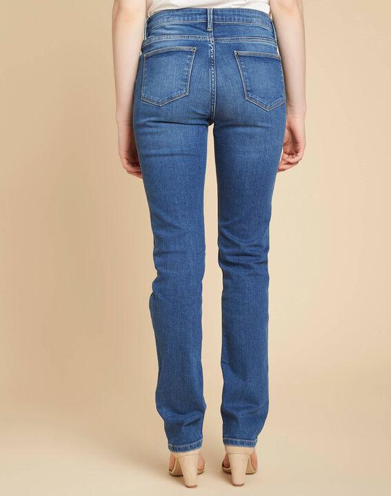 Indigo spijkerbroek met recht model Vivienne (4) - 37653