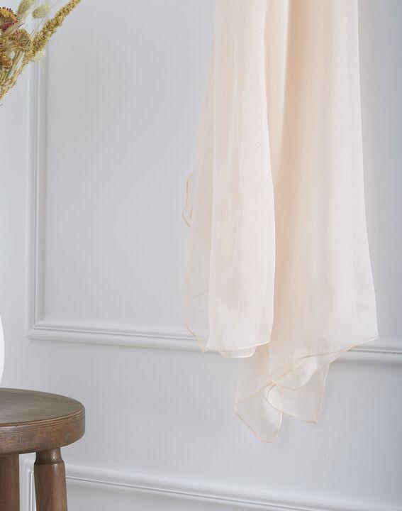 Foulard rose pâle en soie Alice (2) - Maison 123