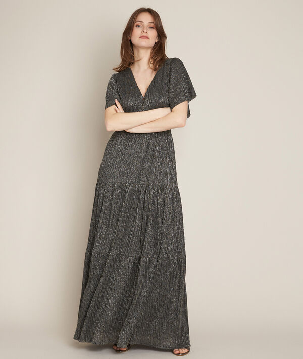 Robe longue lurex Chantal PhotoZ | 1-2-3