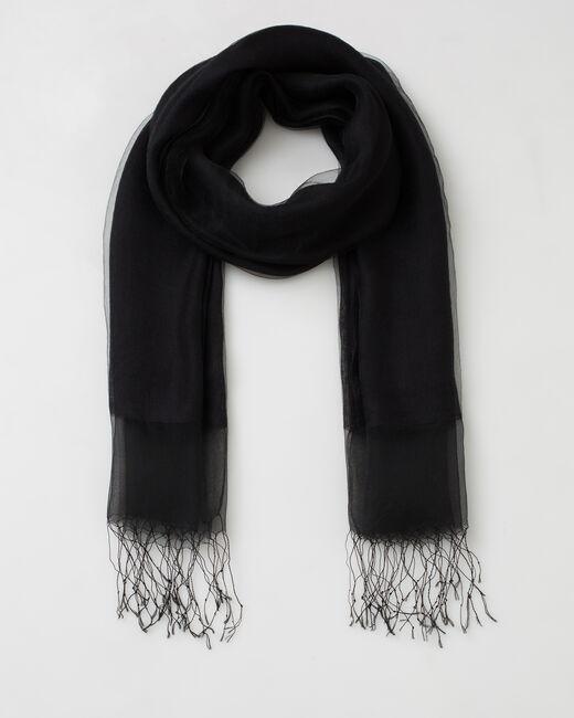 Etole noire en soie Maeva (2) - 1-2-3