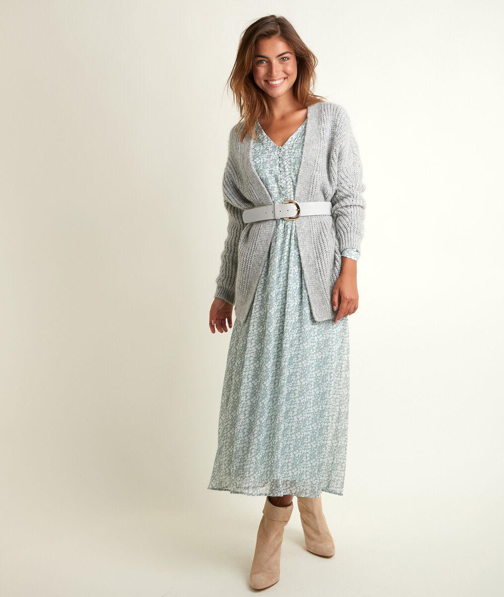 Robe longue imprimée Nety PhotoZ   1-2-3