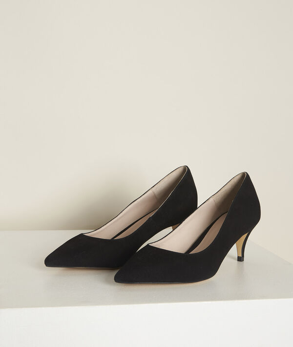 Escarpins noirs en cuir Lili  PhotoZ | 1-2-3