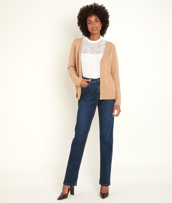 De originele, raw used straight-fit 123 jeans Sonia  PhotoZ | 1-2-3
