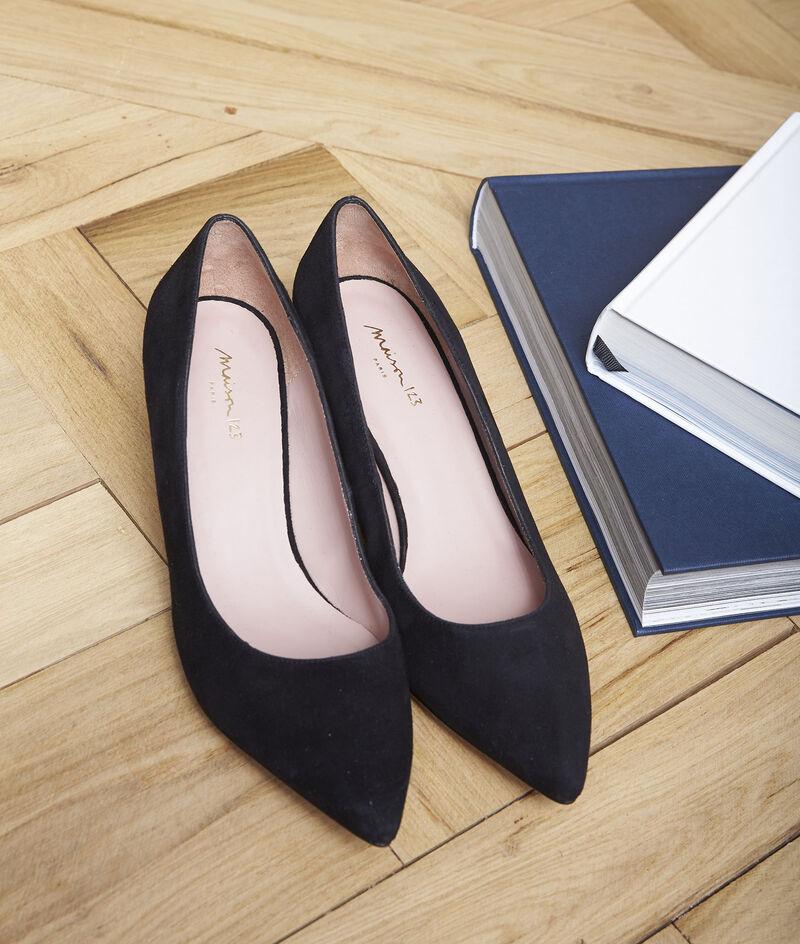 Escarpins noirs en cuir Lili PhotoZ   1-2-3