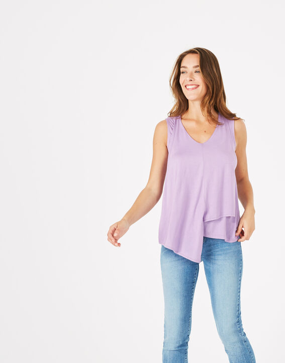 Bliss mauve vest top PhotoZ | 1-2-3
