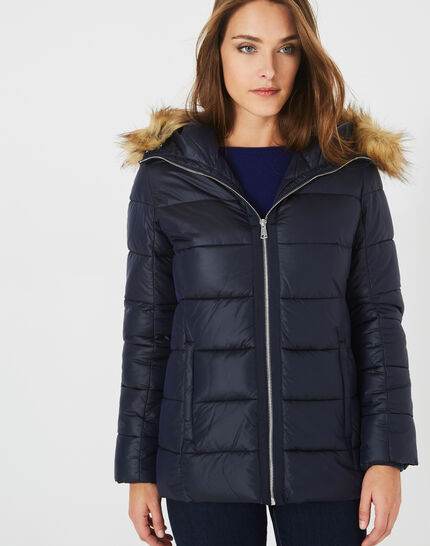 Lena bis short midnight blue puffer jacket (2) - 1-2-3