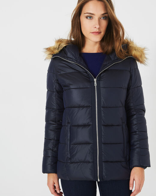 Lena bis short midnight blue puffer jacket (1) - 1-2-3