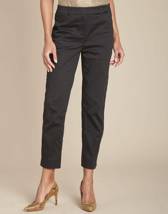 Pantalon noir cigarette Rubis (1) - Maison 123