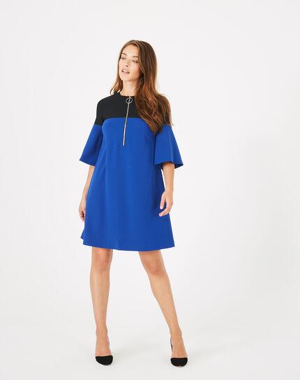 Alexia two-tone dress (2) - 1-2-3