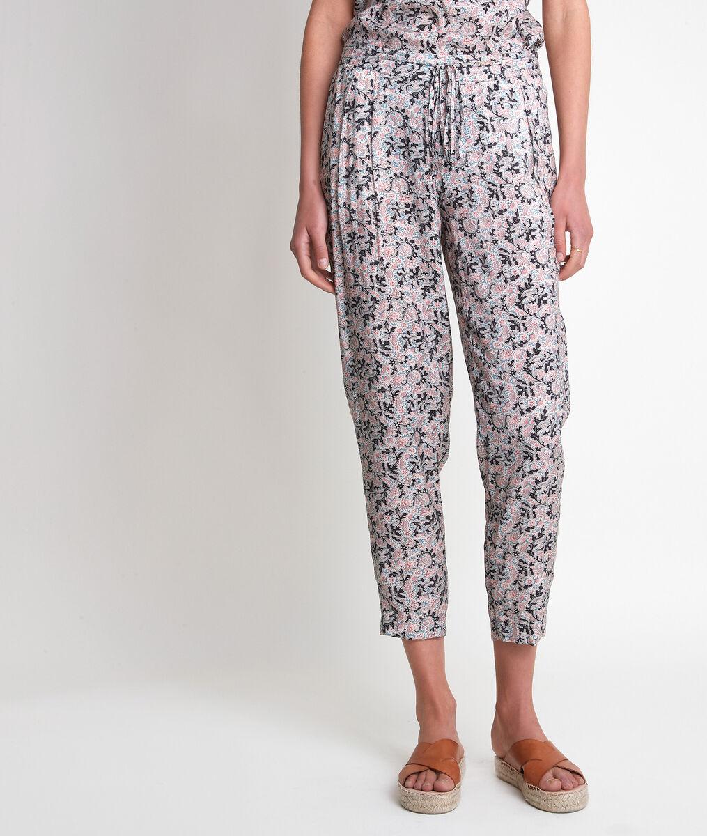Pantalon en coton imprimé blush Flynn  PhotoZ | 1-2-3