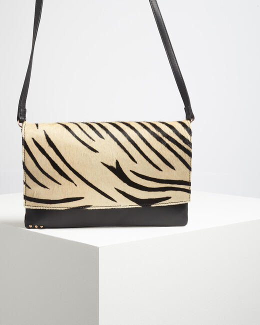 Djenna zebra print shoulder bag (1) - 1-2-3