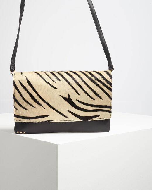Djenna zebra print shoulder bag (1) - 1-2-3