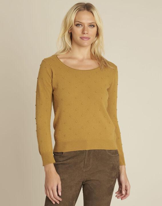 Gele trui met ronde hals van gemengd wol Beebop PhotoZ | 1-2-3