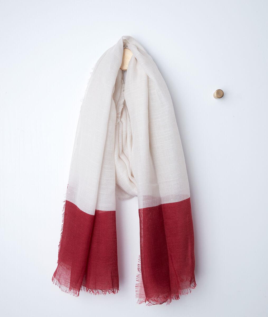 Foulard bicolore carlota