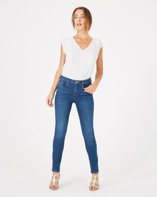 Indigoblaue 7/8-Washed-Jeans Oliver (2) - 1-2-3