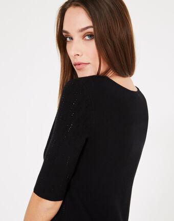 Robe noire à strass princesse noir.