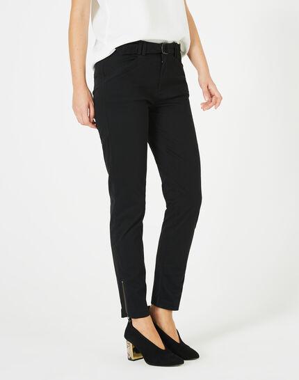 Kloe black 7/8 length trousers PhotoZ | 1-2-3
