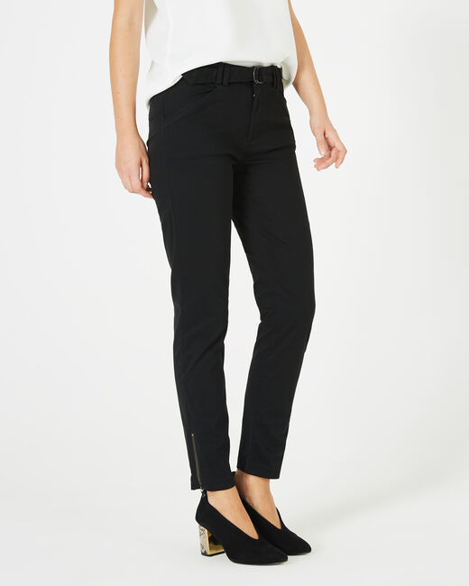 Pantalon noir 7/8ème Kloe (1) - 1-2-3