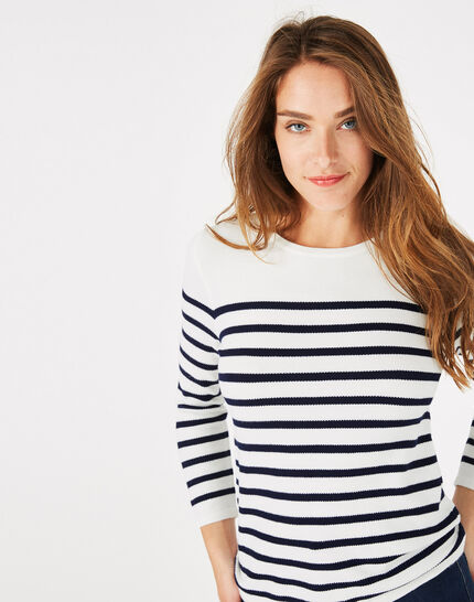 Panama navy-style sweater (4) - 1-2-3