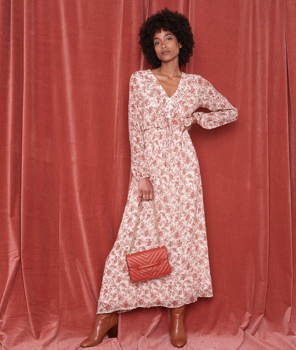 Robe Longue Imprimee Nao Femme Maison 123