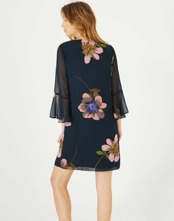 Robe imprimée fleurs Astrid (5) - 1-2-3