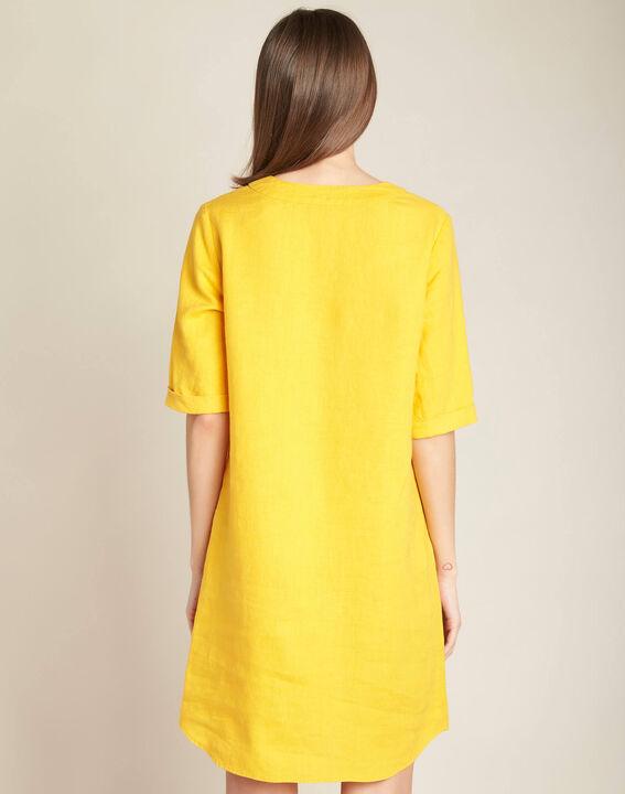 Robe soleil en lin Pavot (4) - 1-2-3