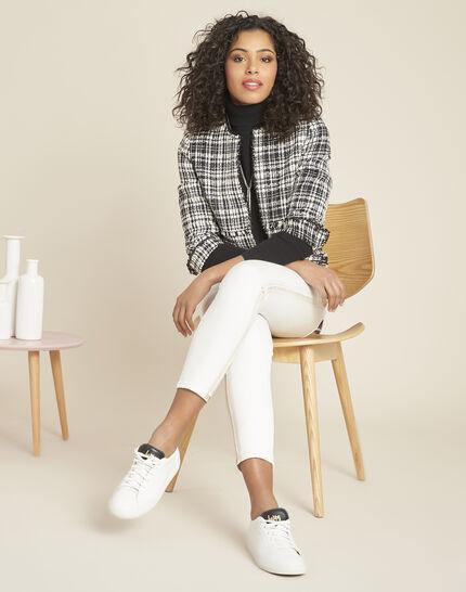 Perceneige black polo-neck cashmere sweater (2) - 1-2-3
