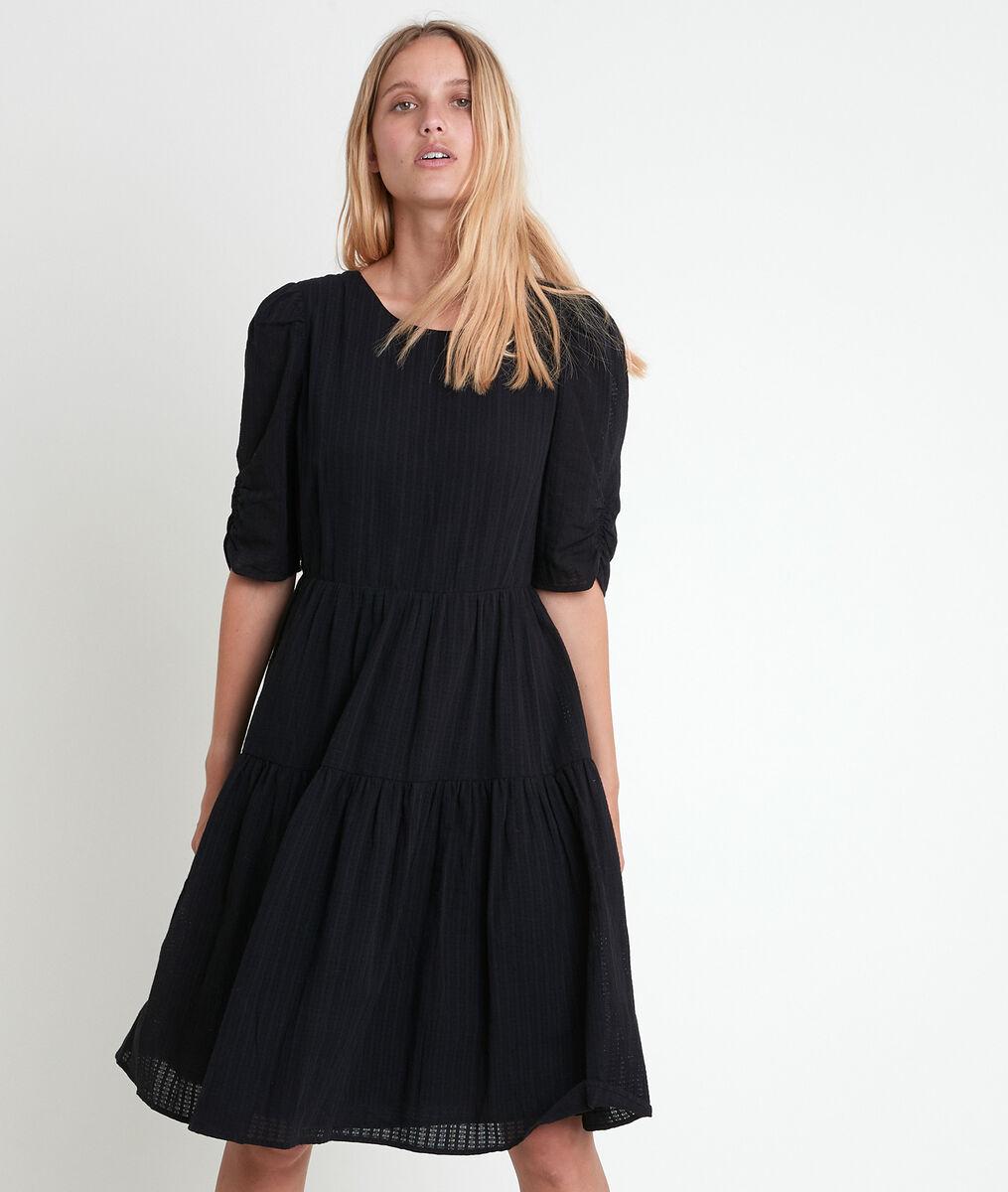 Ausgestelltes Kleid schwarz Lorene PhotoZ | 1-2-3