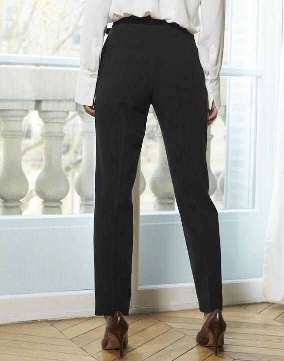 Pantalon noir cigarette Horest (4) - 1-2-3