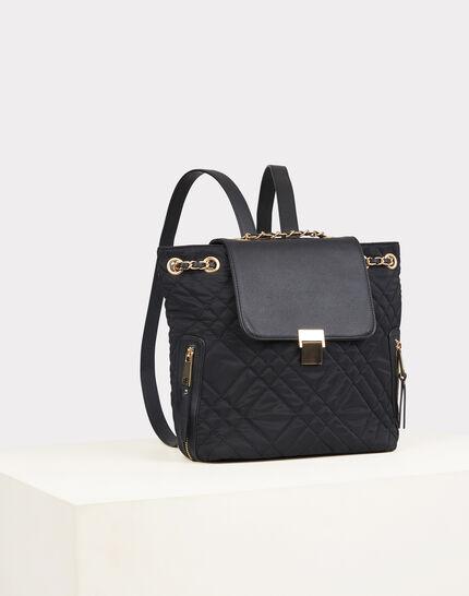 Rachel black quilted bag (1) - 1-2-3