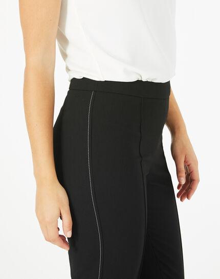 Pantalon de tailleur noir Vilona (4) - 1-2-3