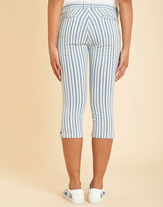 Gestreifte Jeans-Caprihose Very (4) - 1-2-3