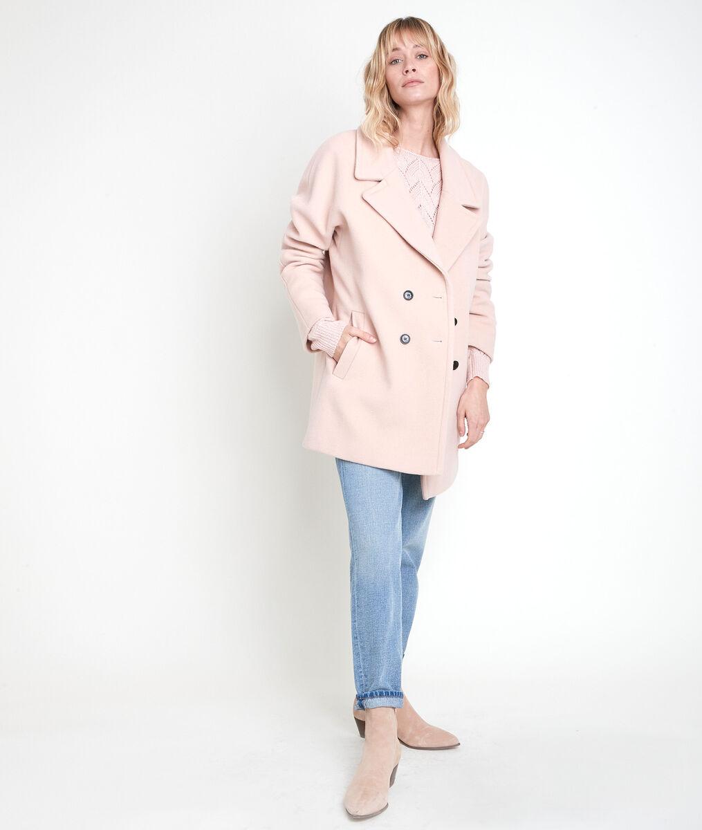 Manteau en laine mélangée poudre Joy PhotoZ | 1-2-3