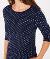 Pastille blue sweater with polka dots PhotoZ | 1-2-3