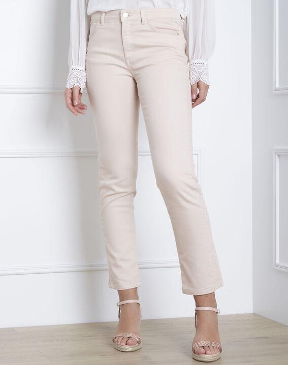 Geradegeschnittene Jeans in Fuchsia Opera PhotoZ   1-2-3