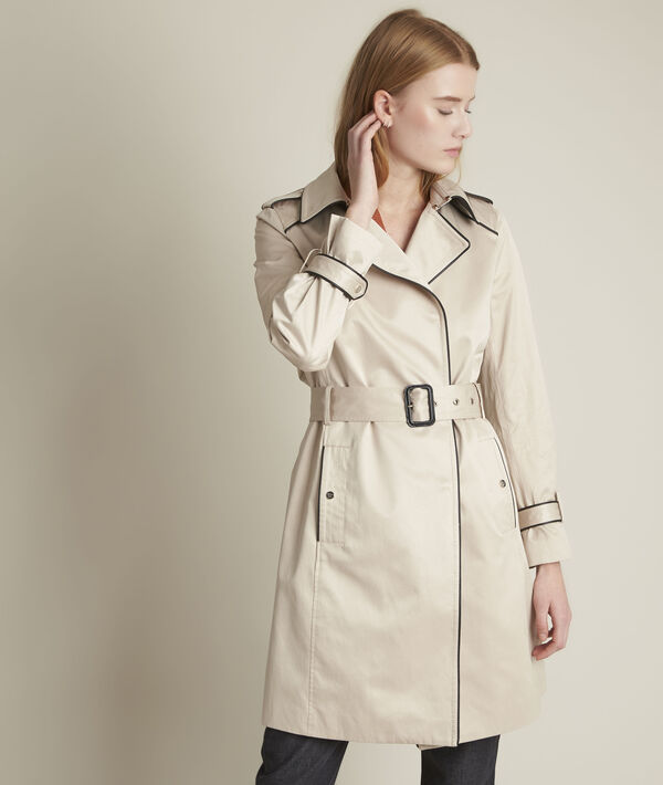 Trench beige gansé Frida PhotoZ | 1-2-3