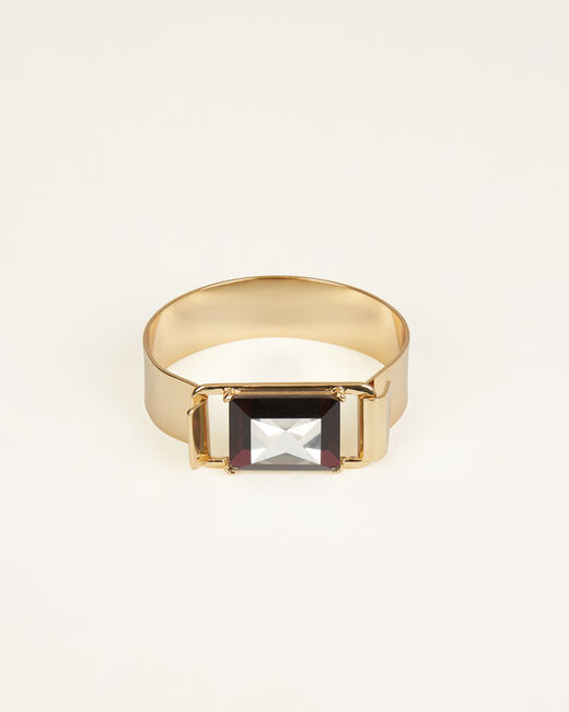 Iliana golden cuff bracelet (2) - 1-2-3
