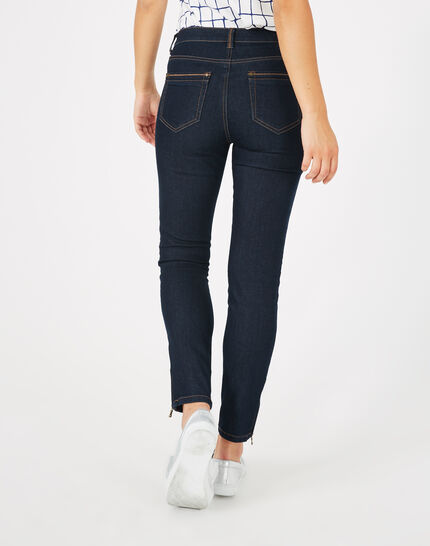 7/8-Jeans Raw Denim Pia (5) - 1-2-3