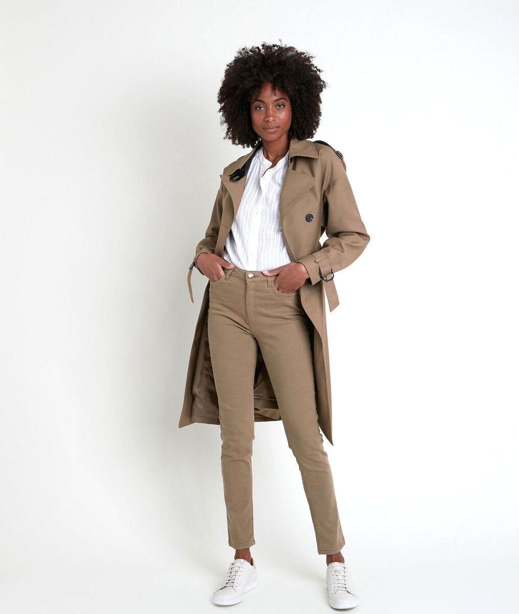 L'iconique slim jean sauge en coton recyclé Suzy PhotoZ | 1-2-3