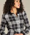 Chemise noir & blanc à carreaux Dominique PhotoZ | 1-2-3