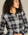 Chemise noir & blanc à carreaux Dominique (1) - 1-2-3