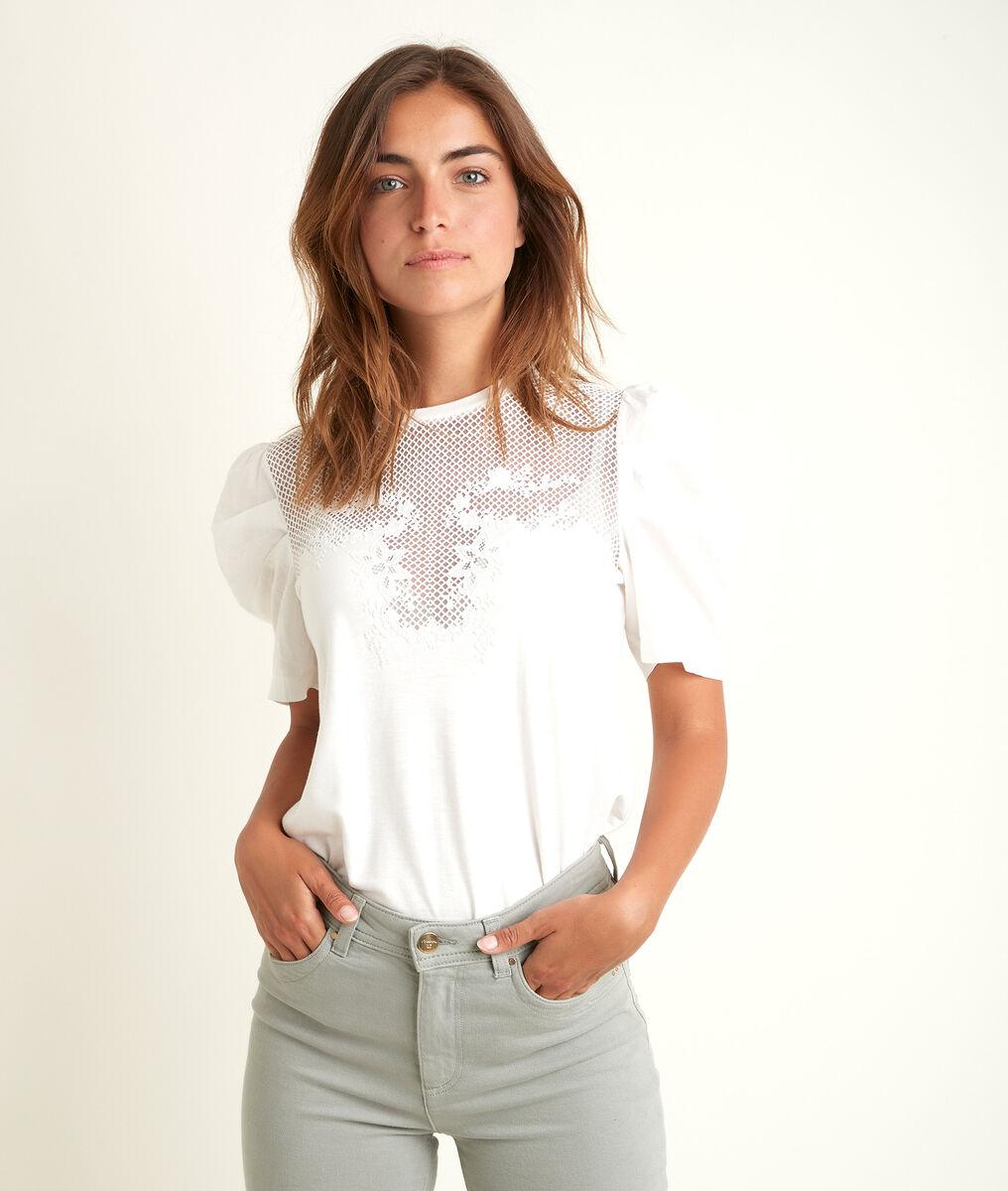 Kanten T-shirt Diane PhotoZ | 1-2-3