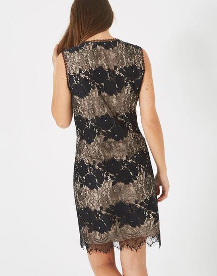 Francesca black lace dress (4) - 1-2-3