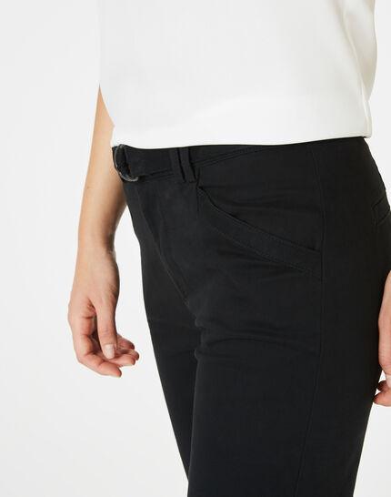 Kloe black 7/8 length trousers (3) - 1-2-3