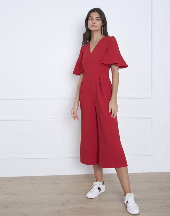 Combinaison rouge cropped Havana (1) - Maison 123